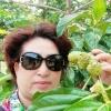 椰树下喝咖啡